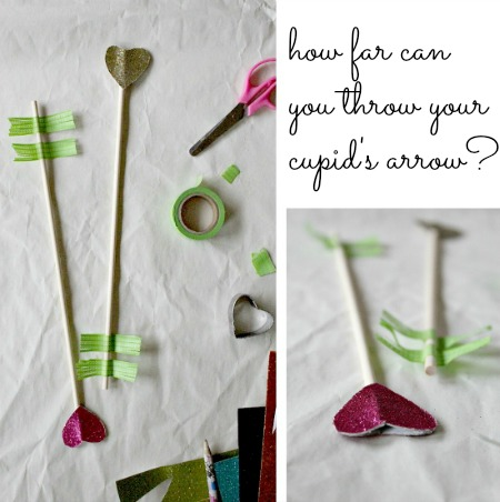make a cupids arrow