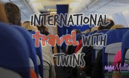International Travel with TWins