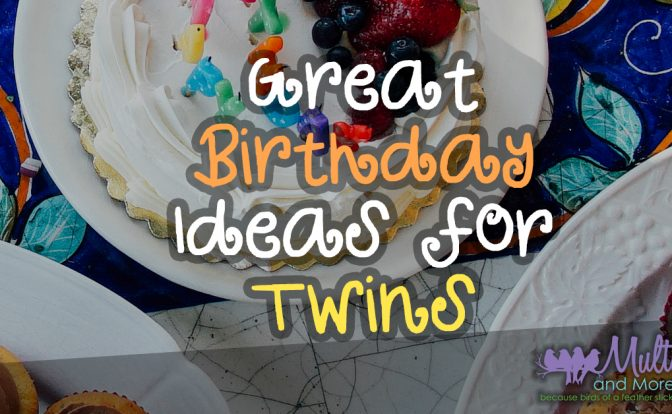Birthday Ideas for Twins