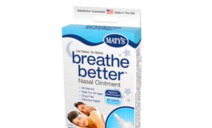 Maty's Breathe Better Nasal Ointment