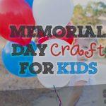 Memorial Daft Craft for Kids