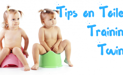 Tips on Toilet Training Twins
