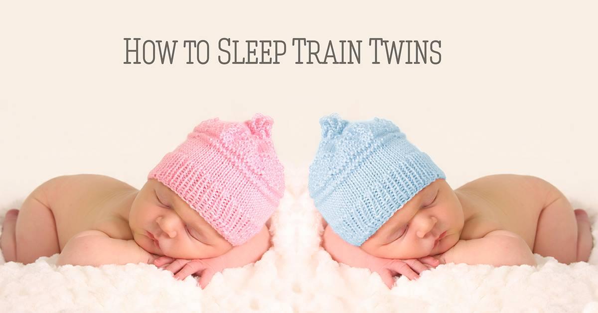 How to Sleep Train Twins