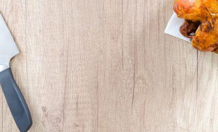 Chicken, Chopping board