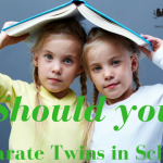 Should you separate twins at school
